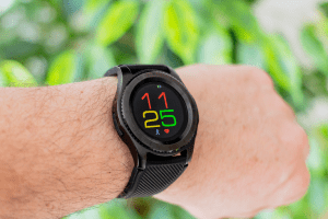 budget friendly smartwatch on the wrist